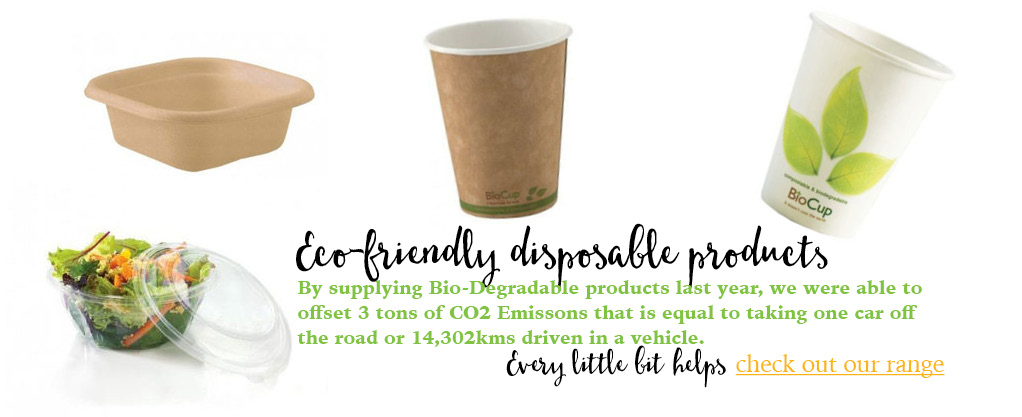 Eco-friendly disposable products